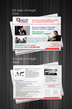 QBS IT Services Marketing collateral Winning Design by Achiver
