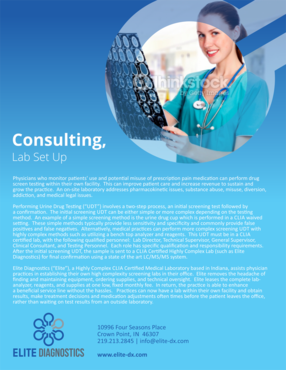 Elite Diagnostics Marketing collateral  Draft # 6 by barinix