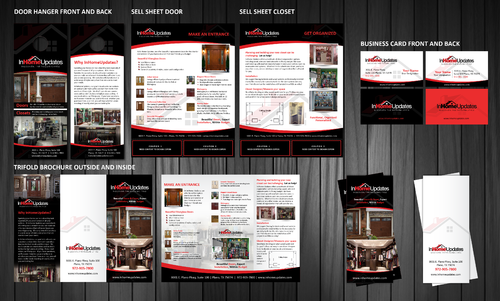 In Home Updates Marketing collateral  Draft # 1 by Achiver