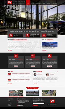 Redesign of existing site.  Web Design Winning Design by jogdesigner