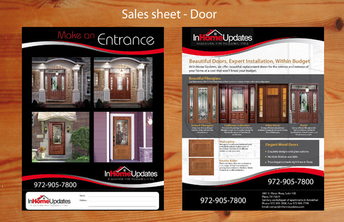 In Home Updates Marketing collateral  Draft # 2 by unidot