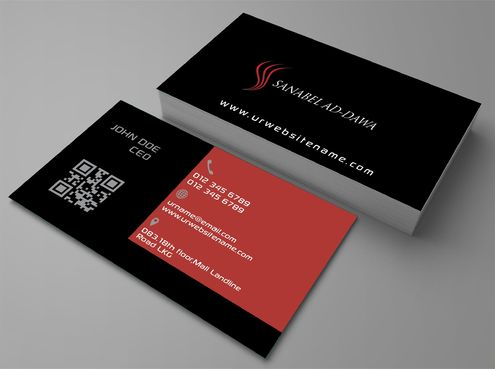 SANABEL AD-DAWA Business Cards and Stationery  Draft # 219 by DesignBlast