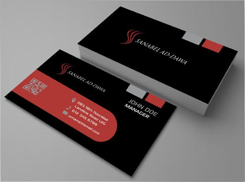 SANABEL AD-DAWA Business Cards and Stationery  Draft # 221 by DesignBlast