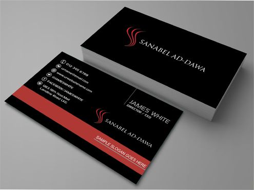 SANABEL AD-DAWA Business Cards and Stationery  Draft # 228 by DesignBlast