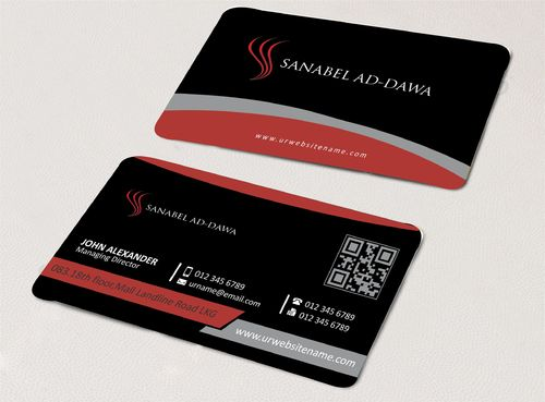 SANABEL AD-DAWA Business Cards and Stationery  Draft # 236 by DesignBlast