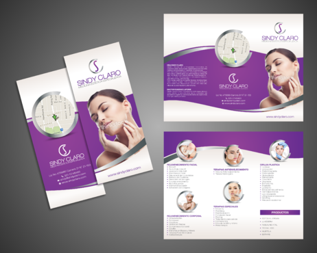 SINDY CLARO MEDICINA ESTETICA ESPECIALIZADA Marketing collateral  Draft # 23 by Kaiza