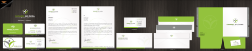 SANABEL AD-DAWA Business Cards and Stationery Winning Design by einsanimation