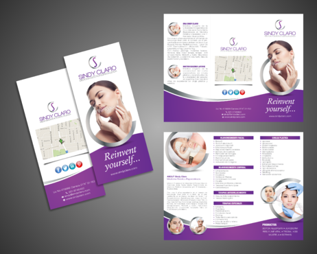 SINDY CLARO MEDICINA ESTETICA ESPECIALIZADA Marketing collateral  Draft # 26 by Kaiza