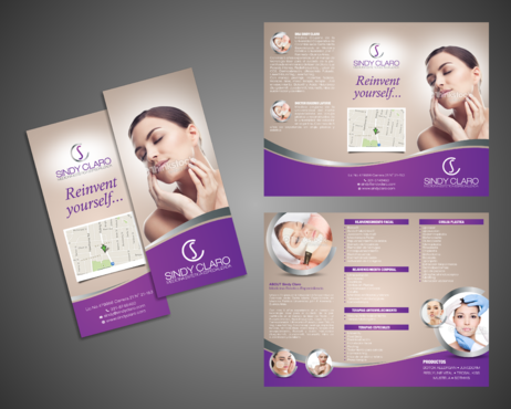 SINDY CLARO MEDICINA ESTETICA ESPECIALIZADA Marketing collateral  Draft # 27 by Kaiza