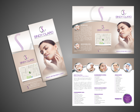 SINDY CLARO MEDICINA ESTETICA ESPECIALIZADA Marketing collateral  Draft # 28 by Kaiza
