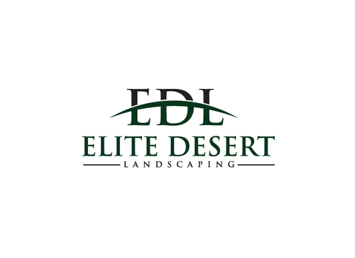 elite desert landscaping A Logo, Monogram, or Icon  Draft # 1 by Shoaibali