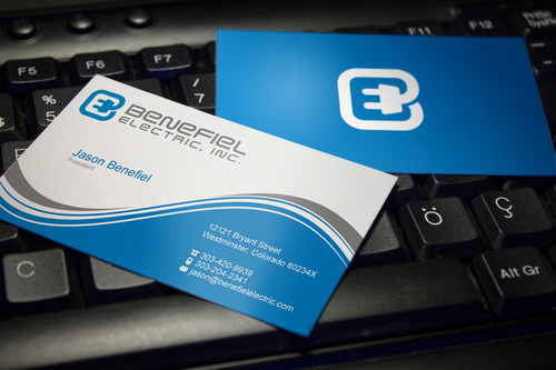 Electrical Contractor Business Cards and Stationery  Draft # 113 by sevensky