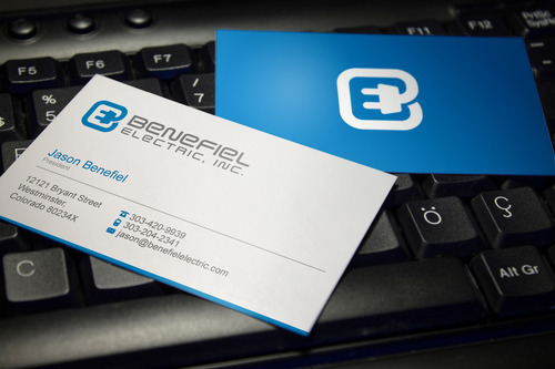 Electrical Contractor Business Cards and Stationery  Draft # 115 by sevensky