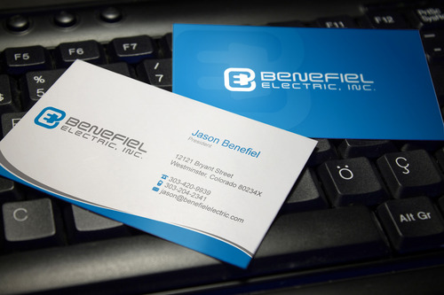 Electrical Contractor Business Cards and Stationery  Draft # 117 by sevensky