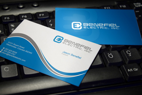 Electrical Contractor Business Cards and Stationery  Draft # 118 by sevensky