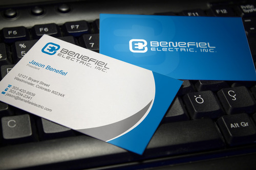 Electrical Contractor Business Cards and Stationery  Draft # 119 by sevensky