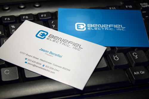 Electrical Contractor Business Cards and Stationery  Draft # 121 by sevensky