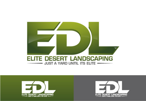 elite desert landscaping A Logo, Monogram, or Icon  Draft # 13 by Filter