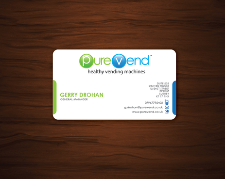 purevend Business Cards and Stationery  Draft # 59 by imahegrafix
