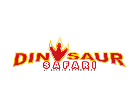 Dinosaur Safari at Gladys Porter Zoo A Logo, Monogram, or Icon  Draft # 92 by Nicanice