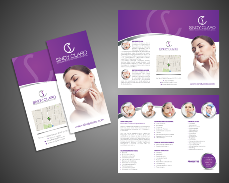SINDY CLARO MEDICINA ESTETICA ESPECIALIZADA Marketing collateral  Draft # 31 by Kaiza