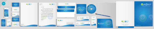 purevend Business Cards and Stationery  Draft # 107 by aheadpoint