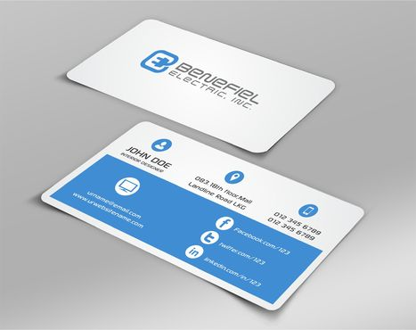 Electrical Contractor Business Cards and Stationery  Draft # 262 by DesignBlast