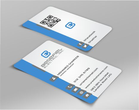 Electrical Contractor Business Cards and Stationery  Draft # 263 by DesignBlast