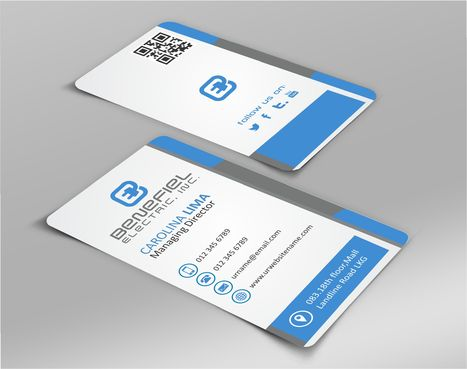 Electrical Contractor Business Cards and Stationery  Draft # 266 by DesignBlast