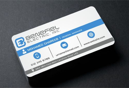 Electrical Contractor Business Cards and Stationery  Draft # 270 by DesignBlast