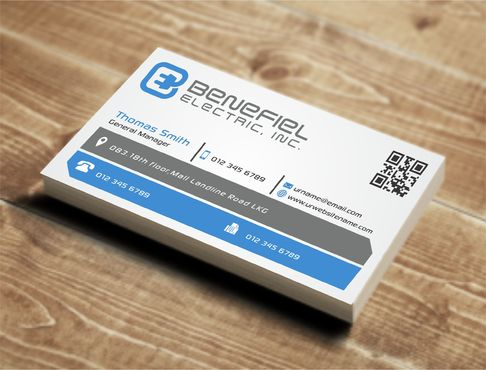 Electrical Contractor Business Cards and Stationery  Draft # 272 by DesignBlast