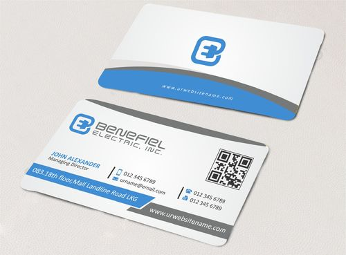 Electrical Contractor Business Cards and Stationery  Draft # 276 by DesignBlast