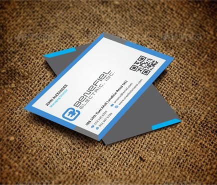 Electrical Contractor Business Cards and Stationery  Draft # 277 by DesignBlast