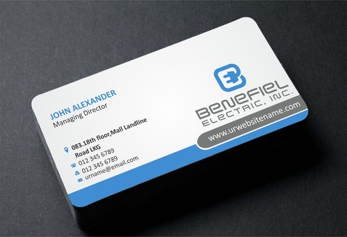 Electrical Contractor Business Cards and Stationery  Draft # 280 by DesignBlast