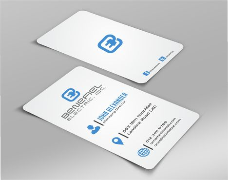 Electrical Contractor Business Cards and Stationery  Draft # 281 by DesignBlast