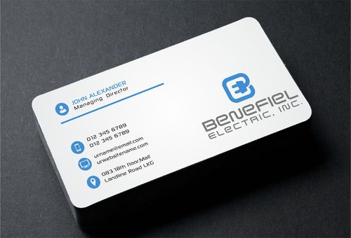 Electrical Contractor Business Cards and Stationery  Draft # 282 by DesignBlast