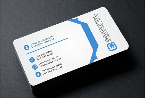 Electrical Contractor Business Cards and Stationery  Draft # 283 by DesignBlast