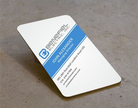 Electrical Contractor Business Cards and Stationery  Draft # 284 by DesignBlast