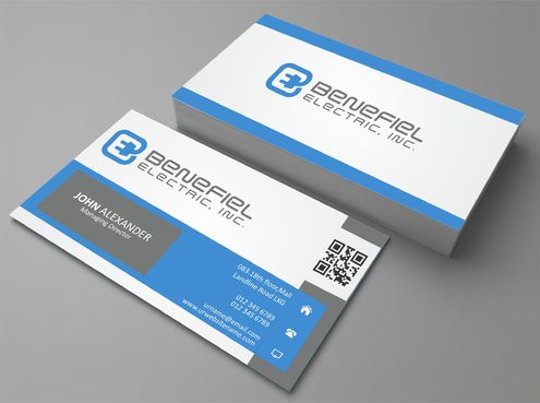 Electrical Contractor Business Cards and Stationery  Draft # 286 by DesignBlast