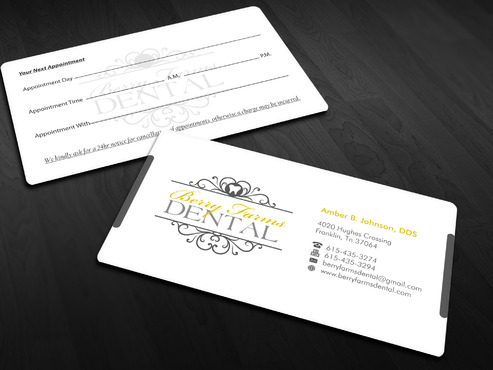 Berry Farms Dental Business Cards and Stationery  Draft # 245 by Xpert