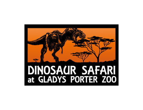 Dinosaur Safari at Gladys Porter Zoo A Logo, Monogram, or Icon  Draft # 109 by Nicanice