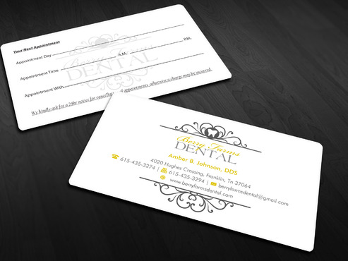 Berry Farms Dental Business Cards and Stationery  Draft # 293 by Xpert