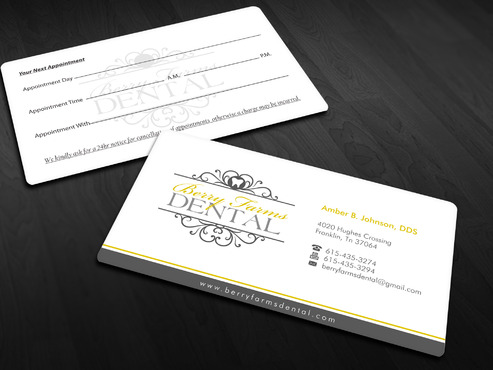 Berry Farms Dental Business Cards and Stationery  Draft # 294 by Xpert