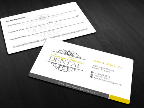 Berry Farms Dental Business Cards and Stationery  Draft # 295 by Xpert