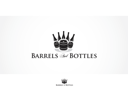 Bottles & Barrels A Logo, Monogram, or Icon  Draft # 13 by skysthelimit