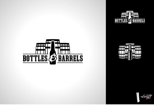 Bottles & Barrels A Logo, Monogram, or Icon  Draft # 18 by sway99