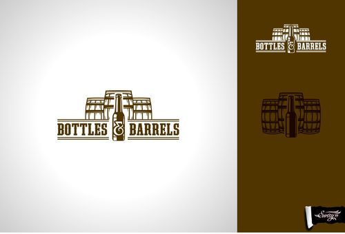 Bottles & Barrels A Logo, Monogram, or Icon  Draft # 20 by sway99