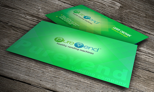 purevend Business Cards and Stationery  Draft # 194 by desupp