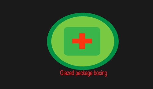 Glazed package boxing  Marketing collateral  Draft # 5 by mahamaster