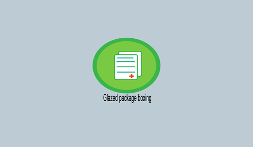 Glazed package boxing  Marketing collateral  Draft # 8 by mahamaster